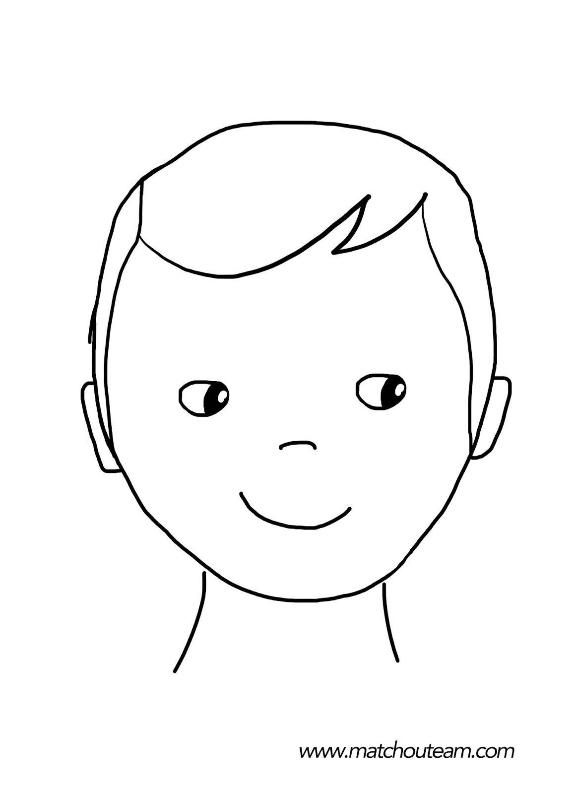 Maquillage Enfants Inspirations | Dessin Visage, Dessin avec Visage À Colorier