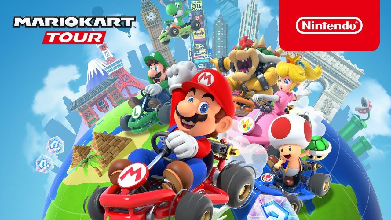 Mario Kart Tour : Le Multijoueur Arrive Enfin Pour Tout Le Monde pour Jeux Gratuit Puissance 4
