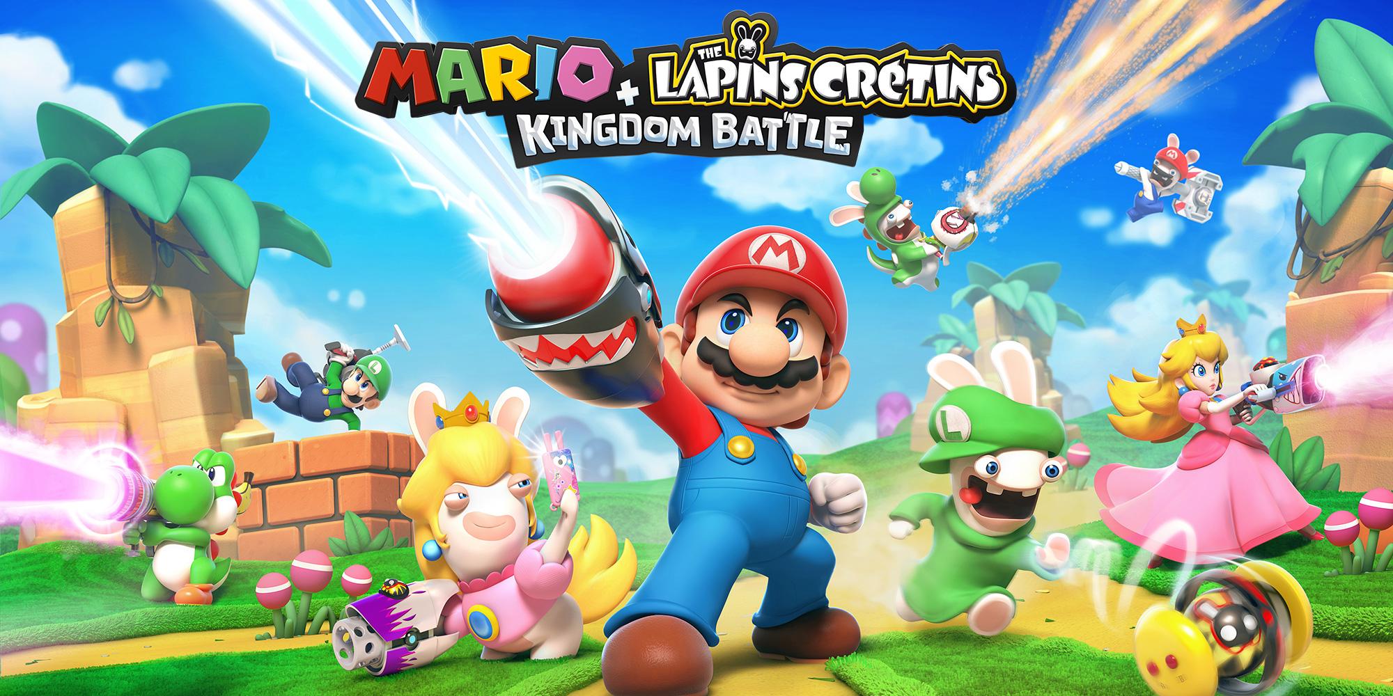 Mario + The Lapins Crétins™ Kingdom Battle | Nintendo Switch à Lapin Crétin À Colorier