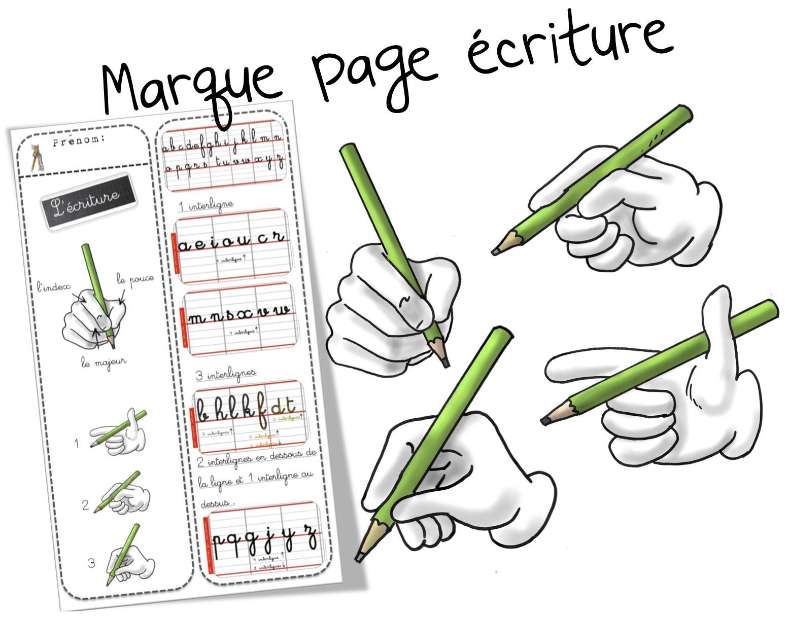 Marque Page | Bout De Gomme à Modele De Marque Page A Imprimer