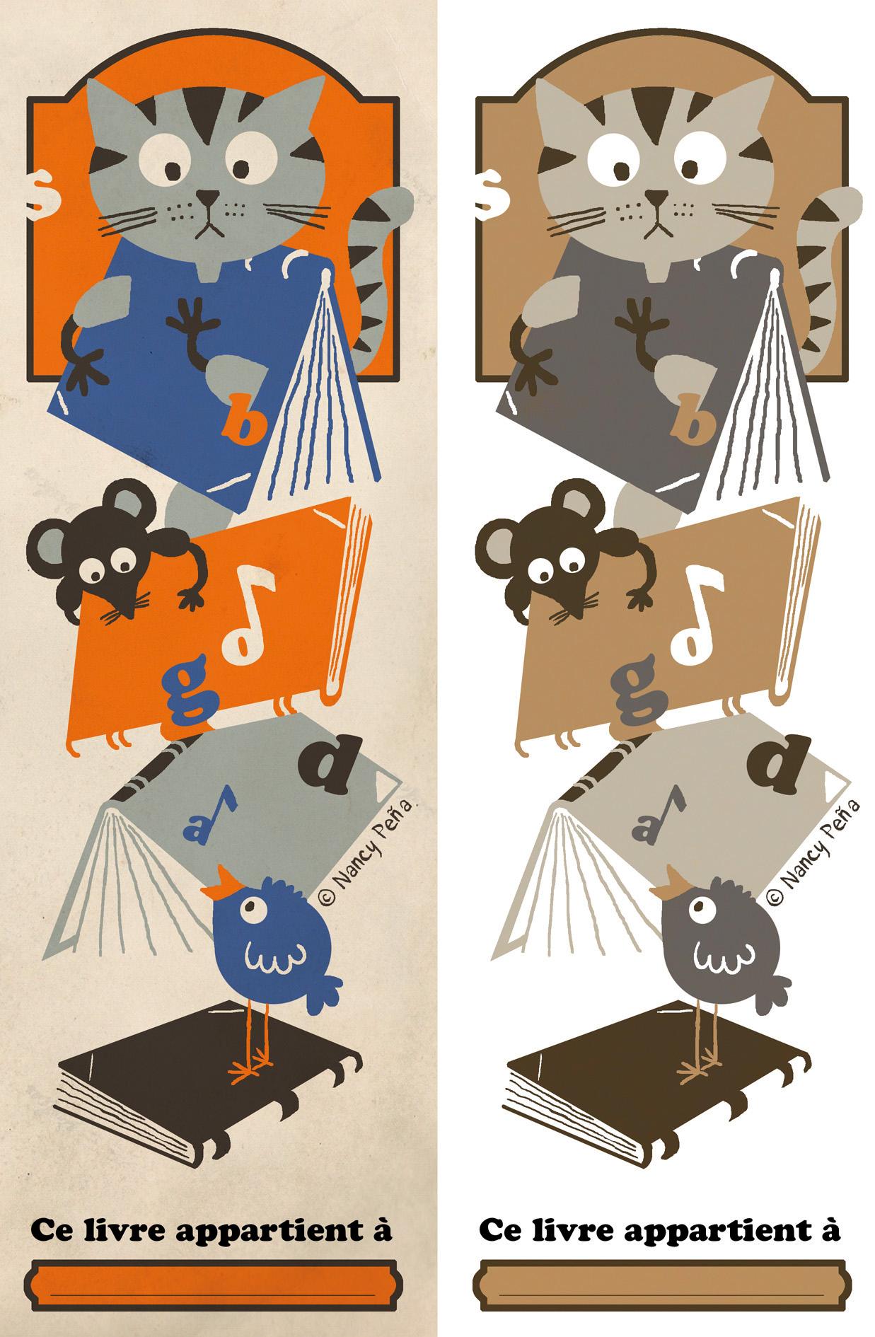 Marque-Pages À Télécharger - Nancy Peña destiné Marque Page Gratuit À Imprimer