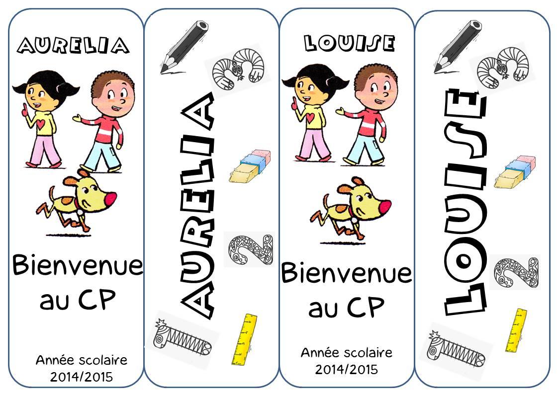 Marque Pages Cp - La Classe De Corinne intérieur Marque Page Gratuit À Imprimer