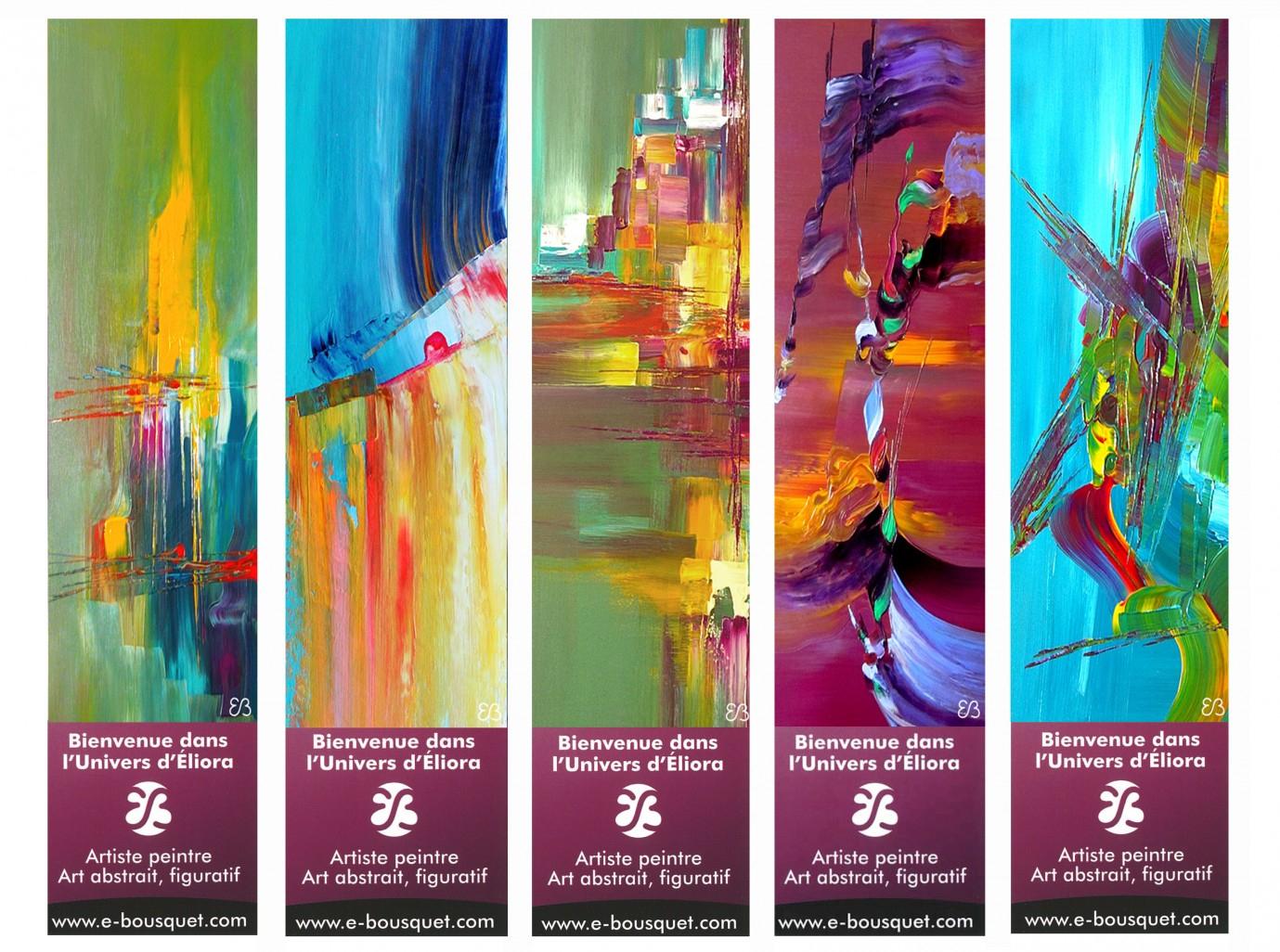 Marque-Pages Créatifs - Art Eliora Bousquet à Marque Page Gratuit À Imprimer