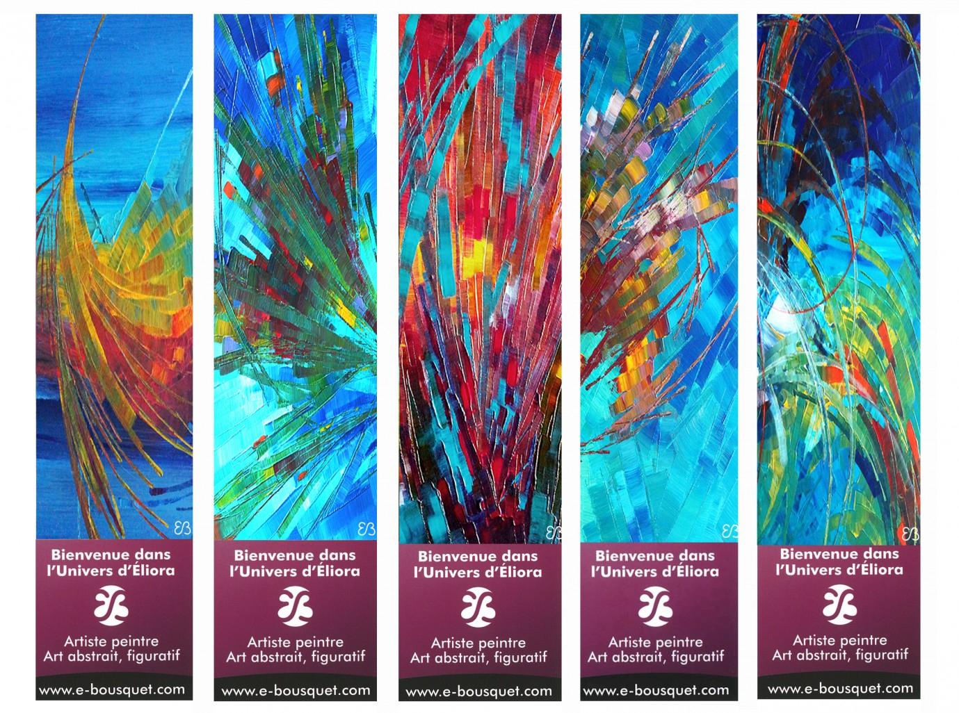 Marque-Pages Créatifs - Art Eliora Bousquet encequiconcerne Modele De Marque Page A Imprimer