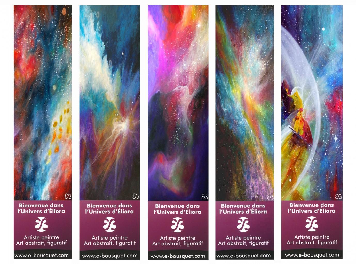 Marque-Pages Créatifs - Art Eliora Bousquet intérieur Modele De Marque Page A Imprimer