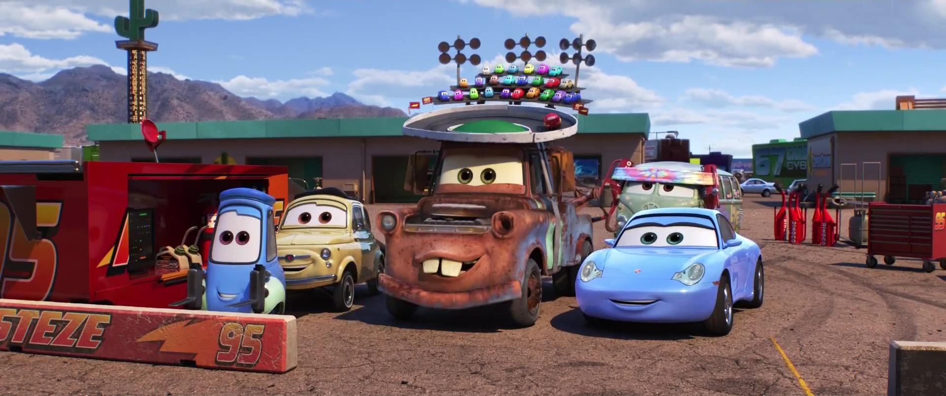 "Martin, Personnage Dans ""cars"". | Pixar-Planet.fr encequiconcerne Flash Mcqueen Martin"