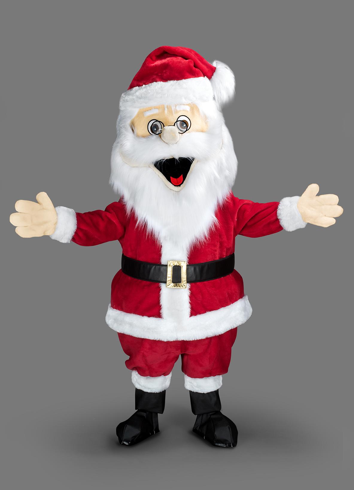 Mascotte Père Noël - Auvergne Jouets à Fabrication De Pere Noel