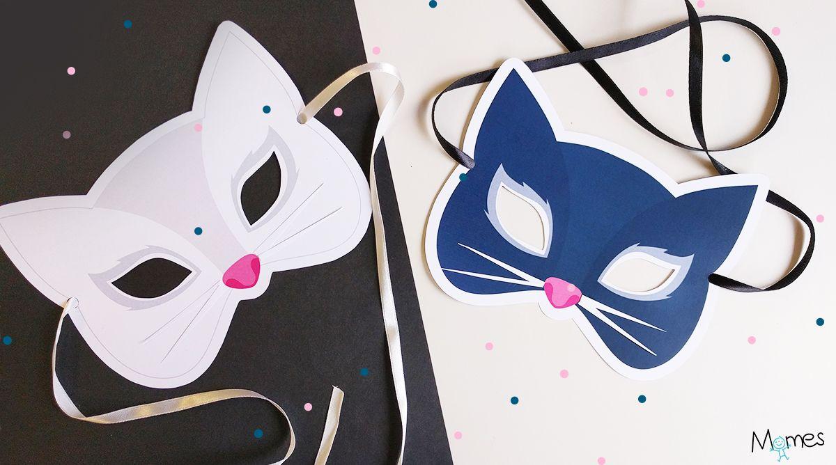 Masque De Chat | Masque Chat, Masque Et Chat A Imprimer encequiconcerne Masque De Catwoman A Imprimer