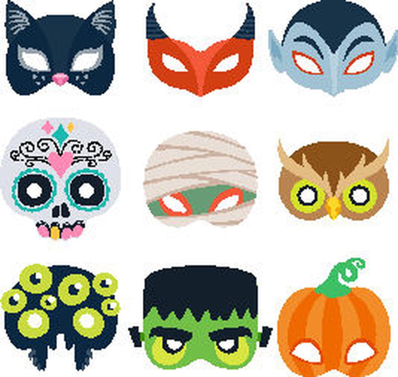 Masque D'halloween : Idées Et Conseils Pour Le Fabriquer avec Dessin D Halloween Facile A Dessiner