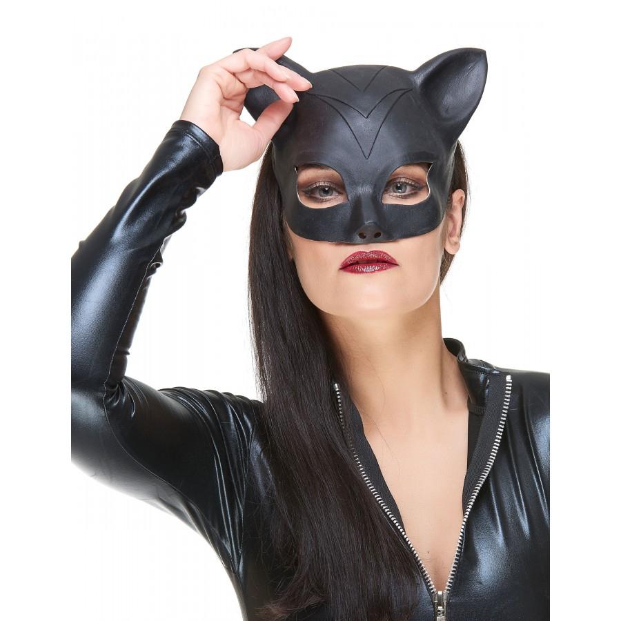 Masque Loup En Latex Catwoman pour Masque De Catwoman A Imprimer