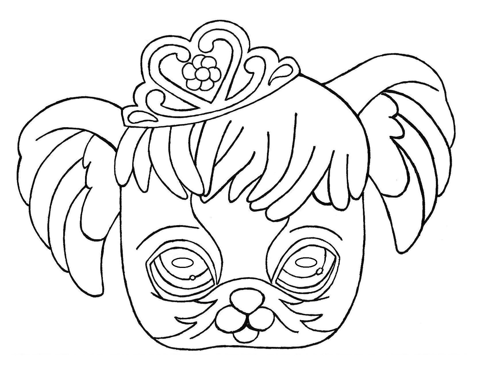 Masque-P273 Decoupage A Imprimer Pour Enfants serapportantà Decoupage Pour Enfant