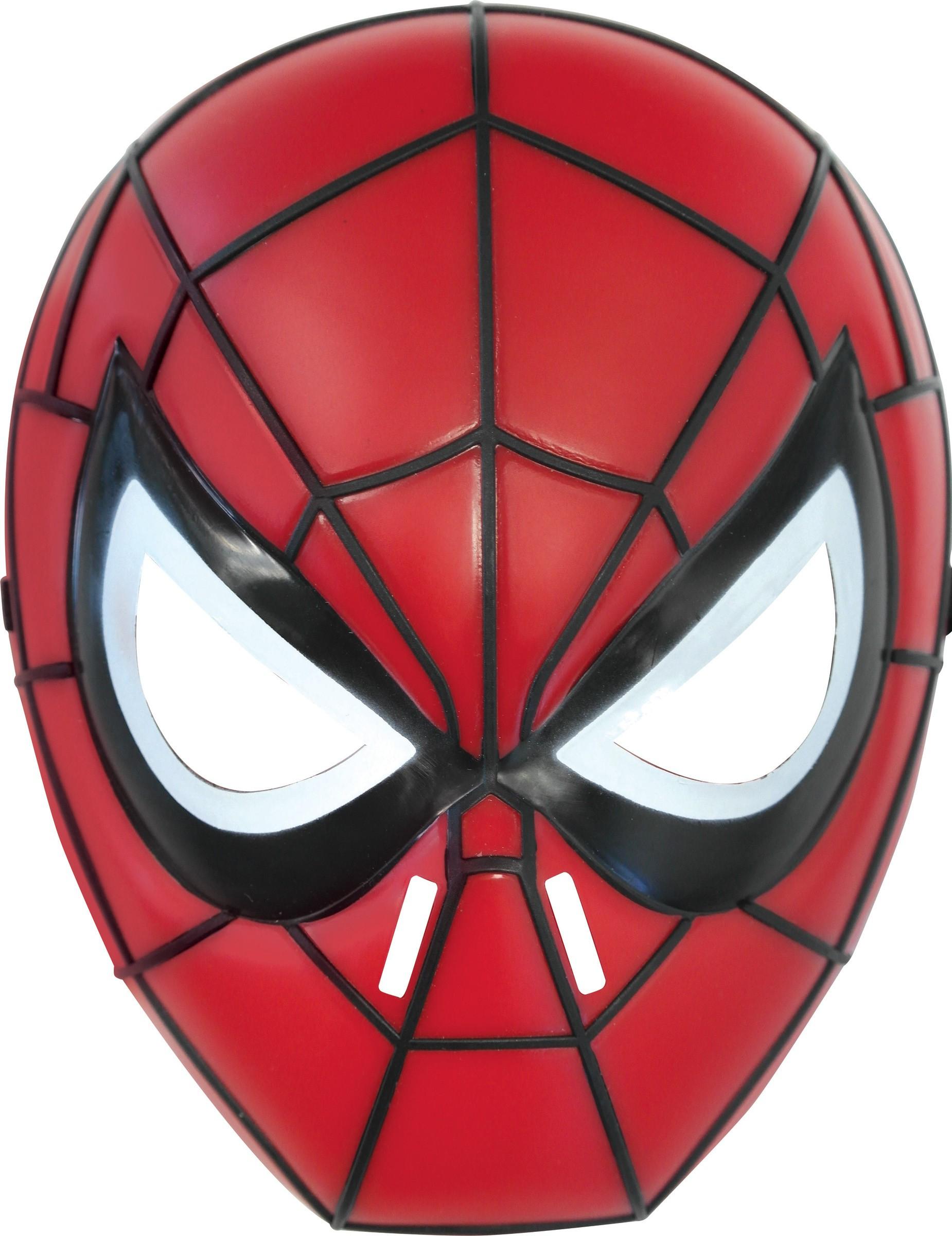 Masque Spiderman™ Rigide Enfant concernant Masque Spiderman A Imprimer