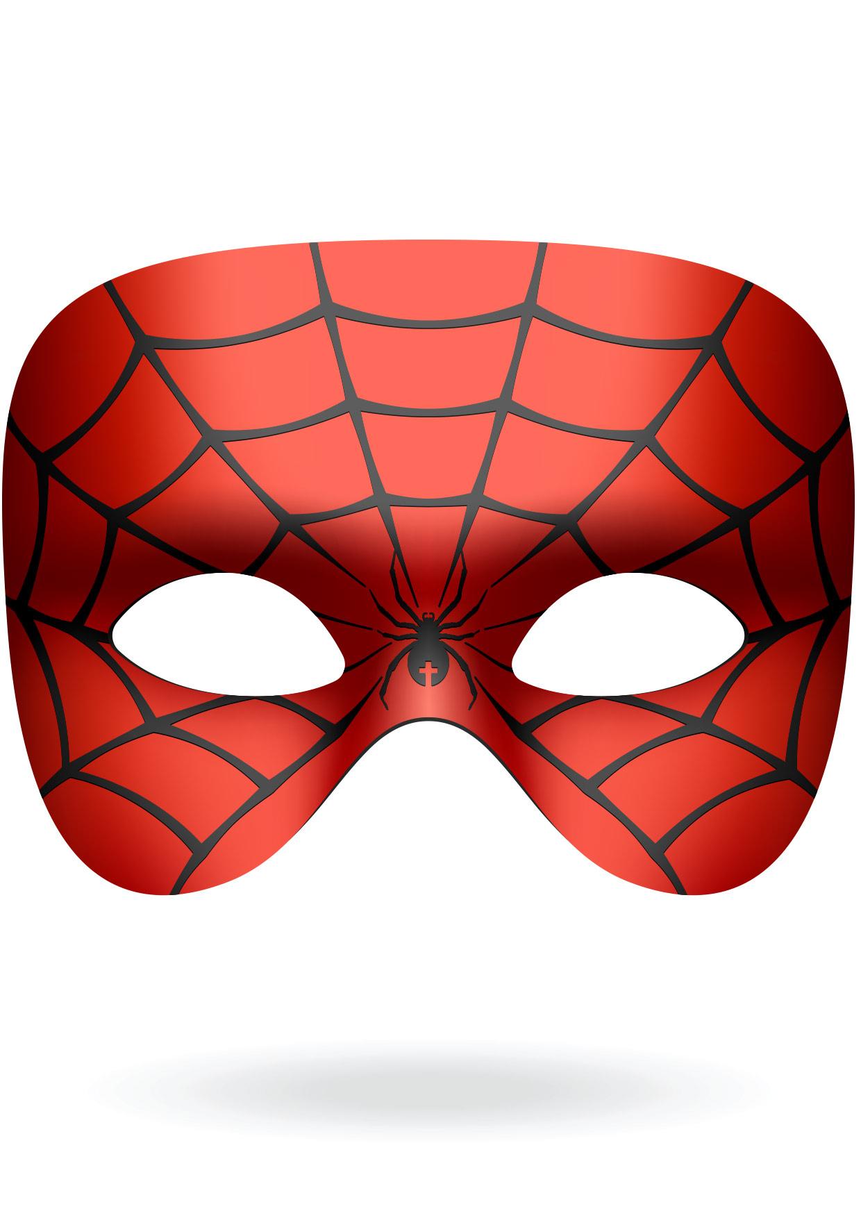 Masques À Découper - Mes Activités - Gulli concernant Masque Spiderman A Imprimer