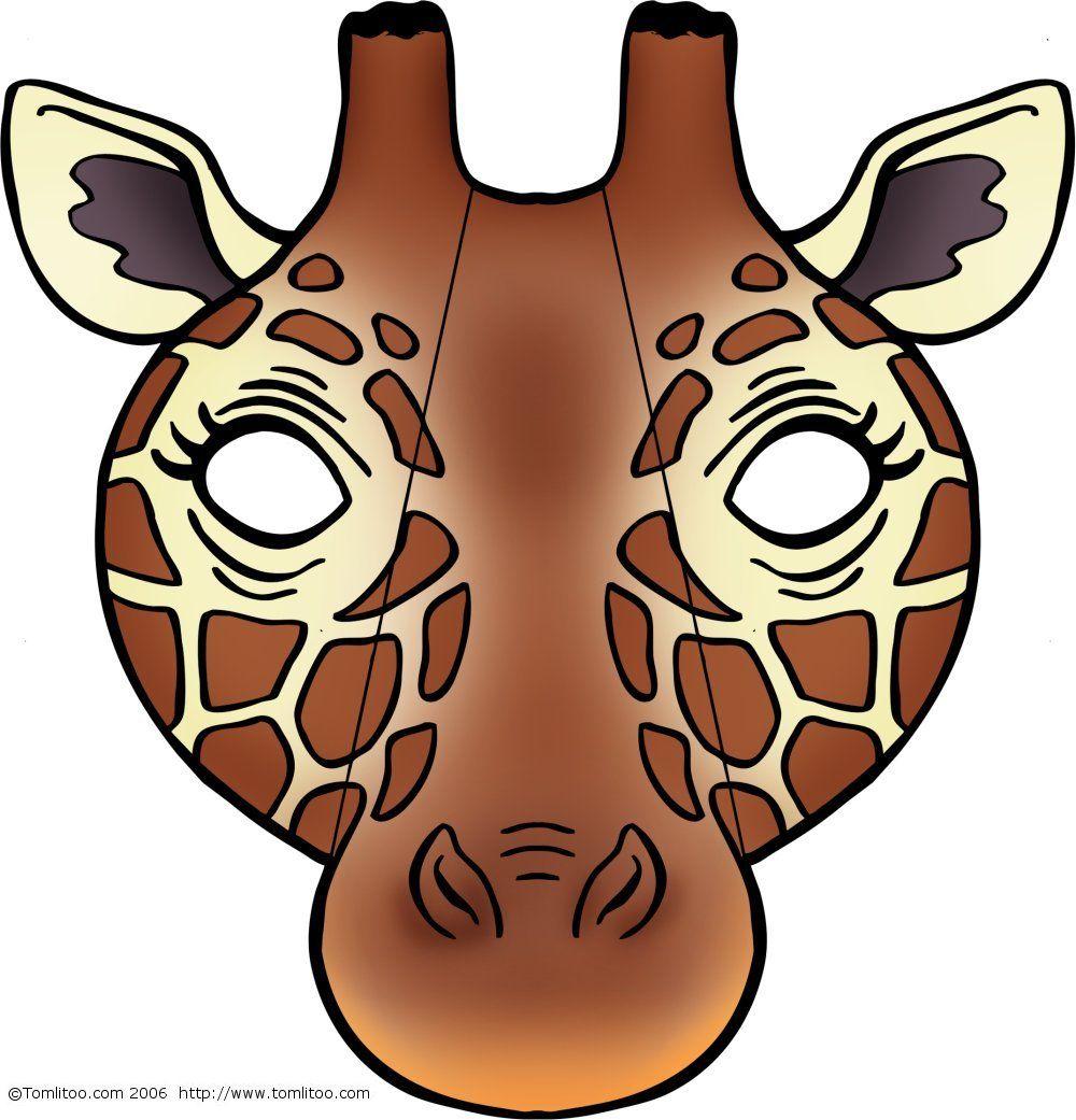 Masques D'animaux À Imprimer Et Colorier Pour Les Enfants à Masques Animaux À Imprimer