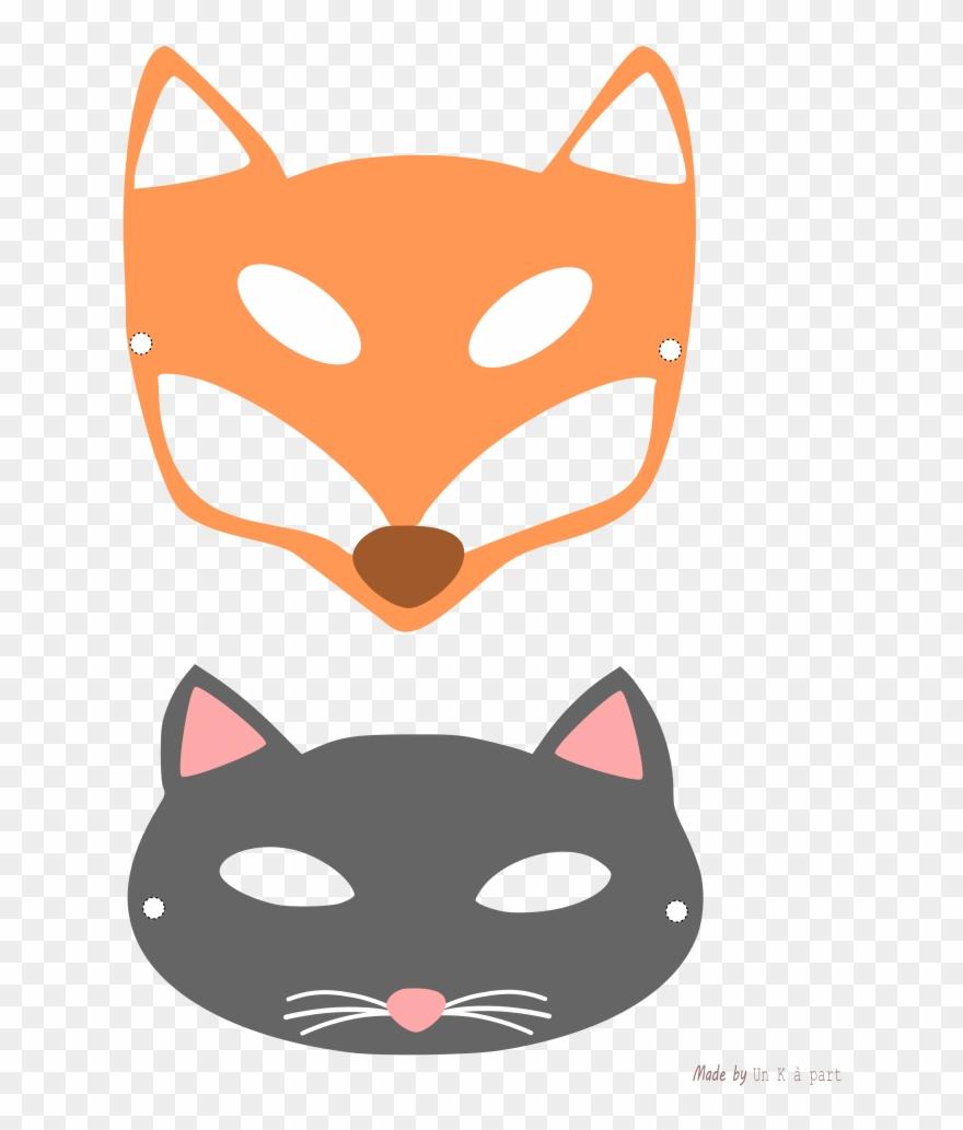 Masques Et Chat Imprimer Champignon Mignon Pinterest destiné Masque De Loup À Imprimer