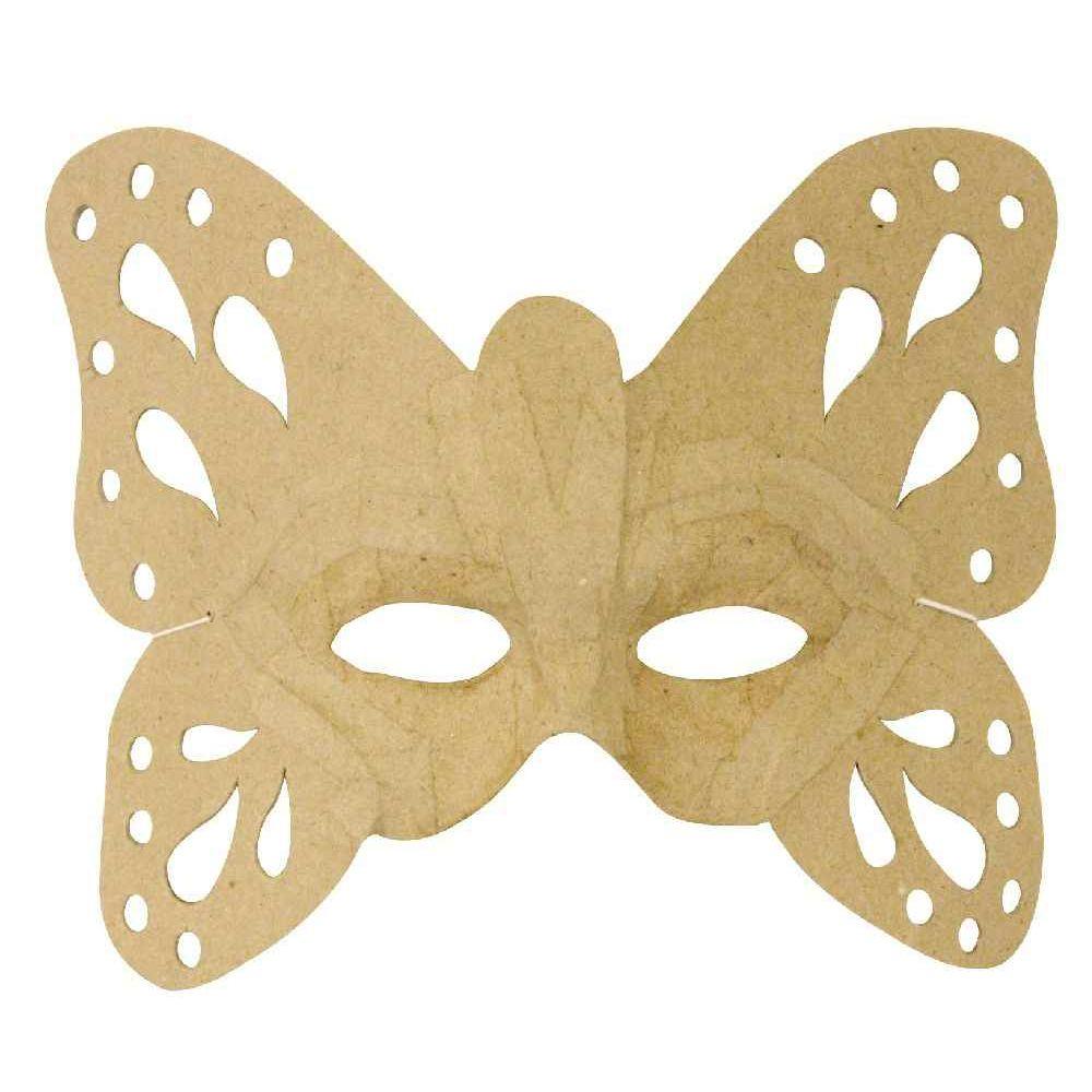 Masques Papillon En Carton - Lot De 6 dedans Masque Papillon À Imprimer