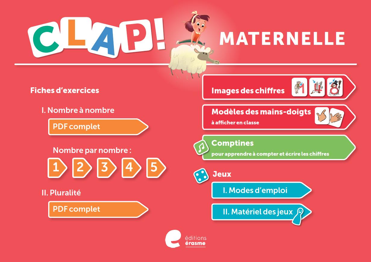 Maternelle-Clap encequiconcerne Apprendre À Écrire Les Chiffres En Maternelle
