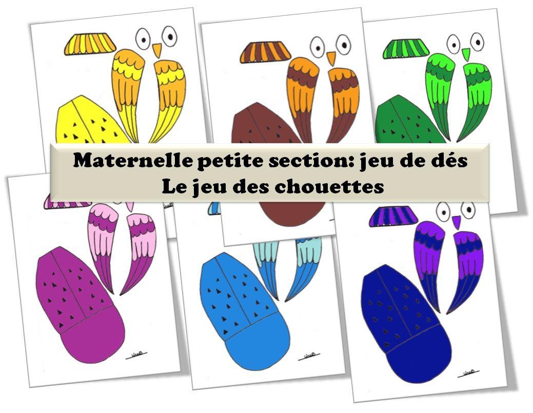 Maternelle-Petite Section-Automne- Jeu De Societe-Le Jeu Des destiné Jeux Pour Petite Section