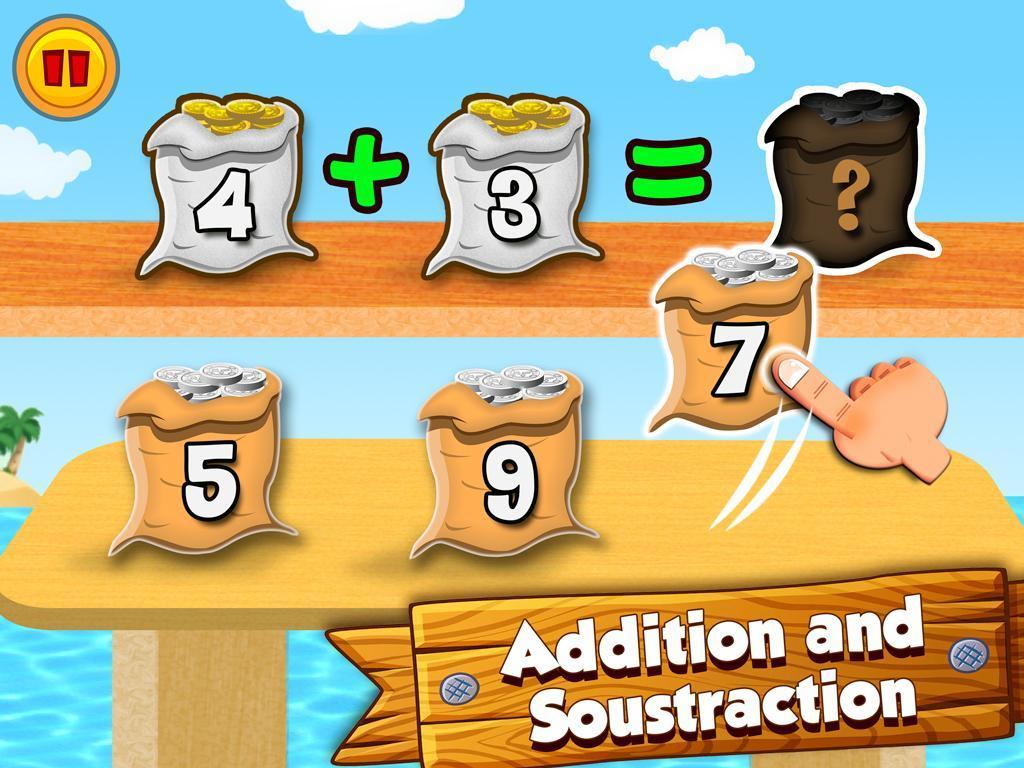 Math Land: Jeux De Maths Et Calcul Mental Pour Android concernant Jeux De Maths Gratuit