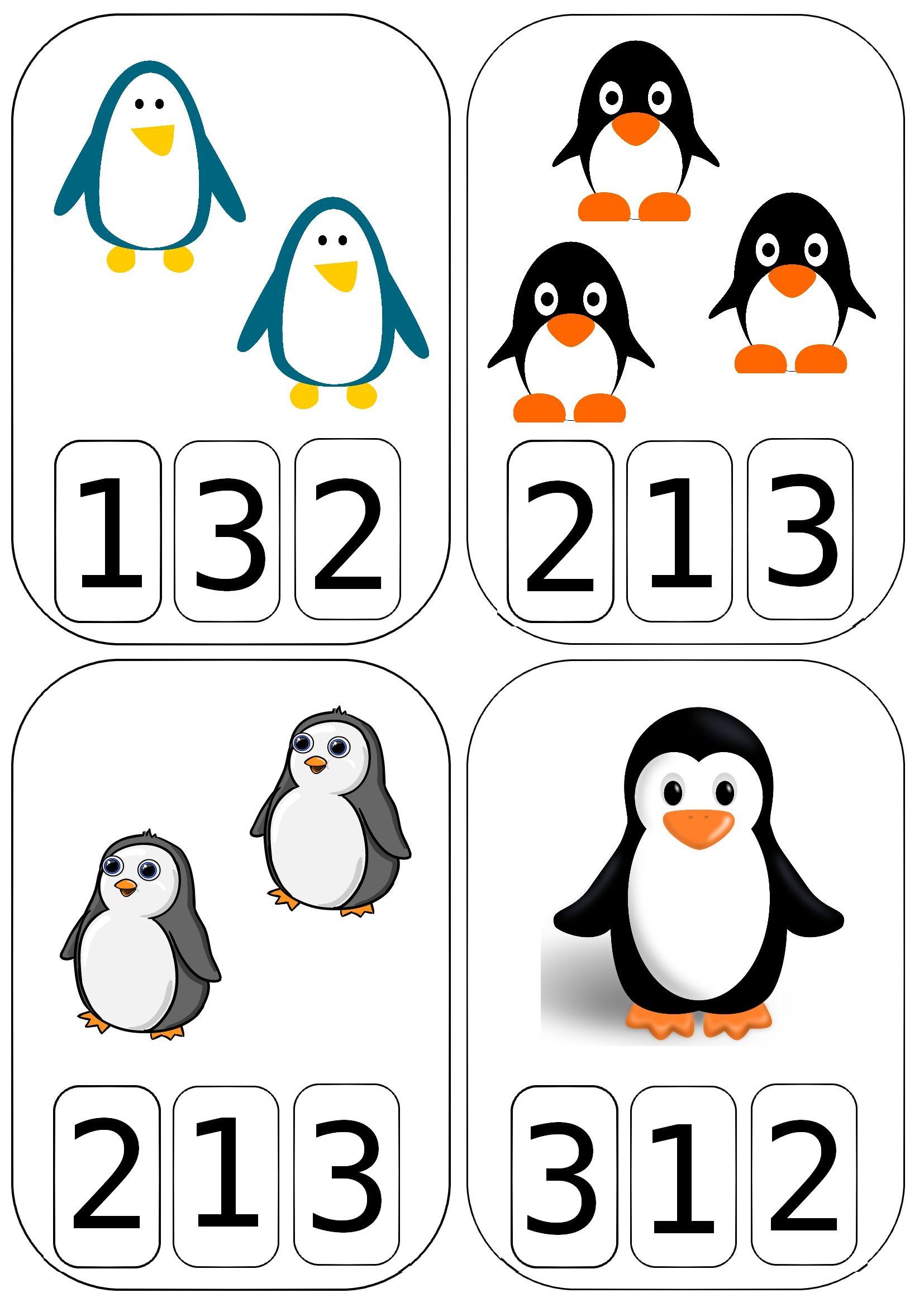 Maths Avec Les Pingouins | Jeux Éducatifs Maternelle intérieur Jeux Educatif Maternelle Moyenne Section
