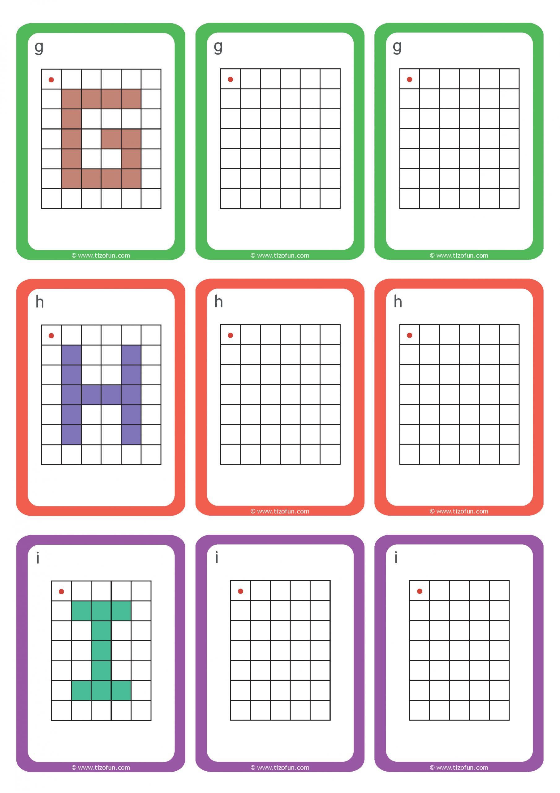 Maths-Deplacement-Dans-Un-Quadrillage-Reproduire-Les-Lettres avec Reproduire Un Dessin Sur Quadrillage