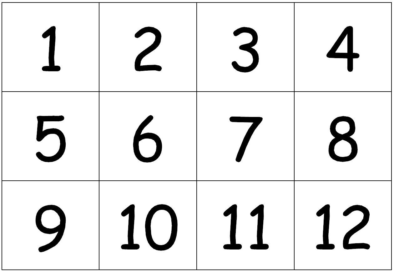 Maths : Mieux Compter - Maitresseuh intérieur Chiffre A Decouper
