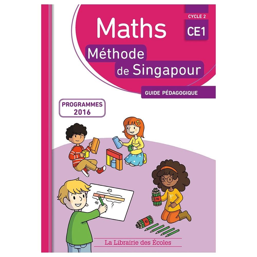 Maths Singapour Guide Pédagogique - Ce1 intérieur Jeux Educatif Ce1