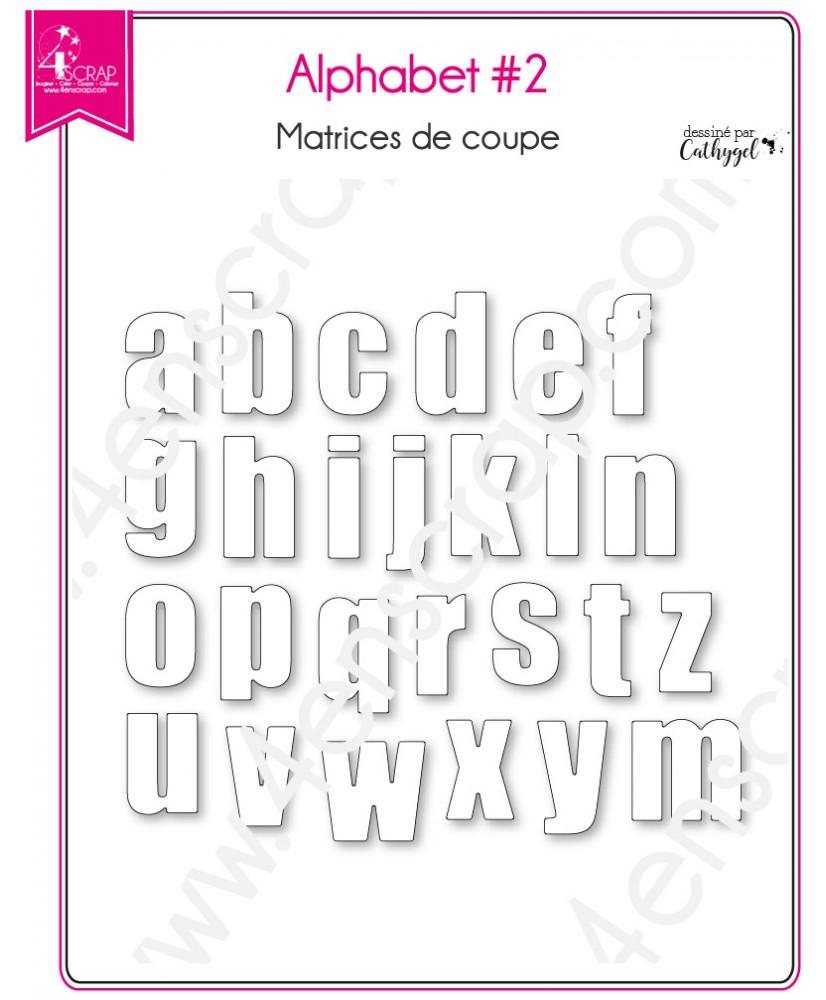 Matrice De Coupe Scrapbooking Carterie Lettre Minuscule Mot intérieur Alphabet Majuscule Et Minuscule