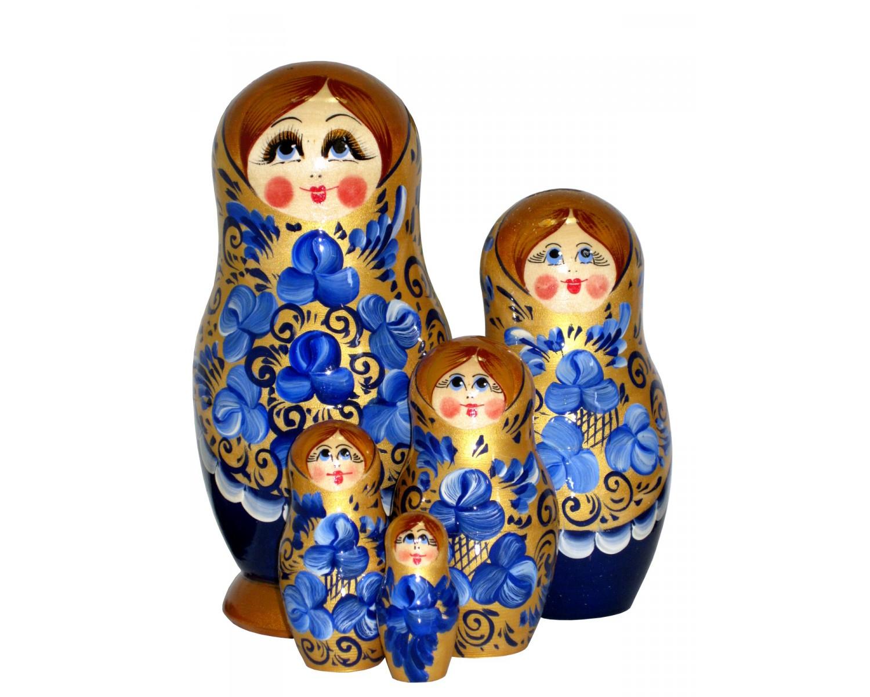 Matriochka - Poupées Russes Peintes À La Main En Russie avec Nom Poupée Russe