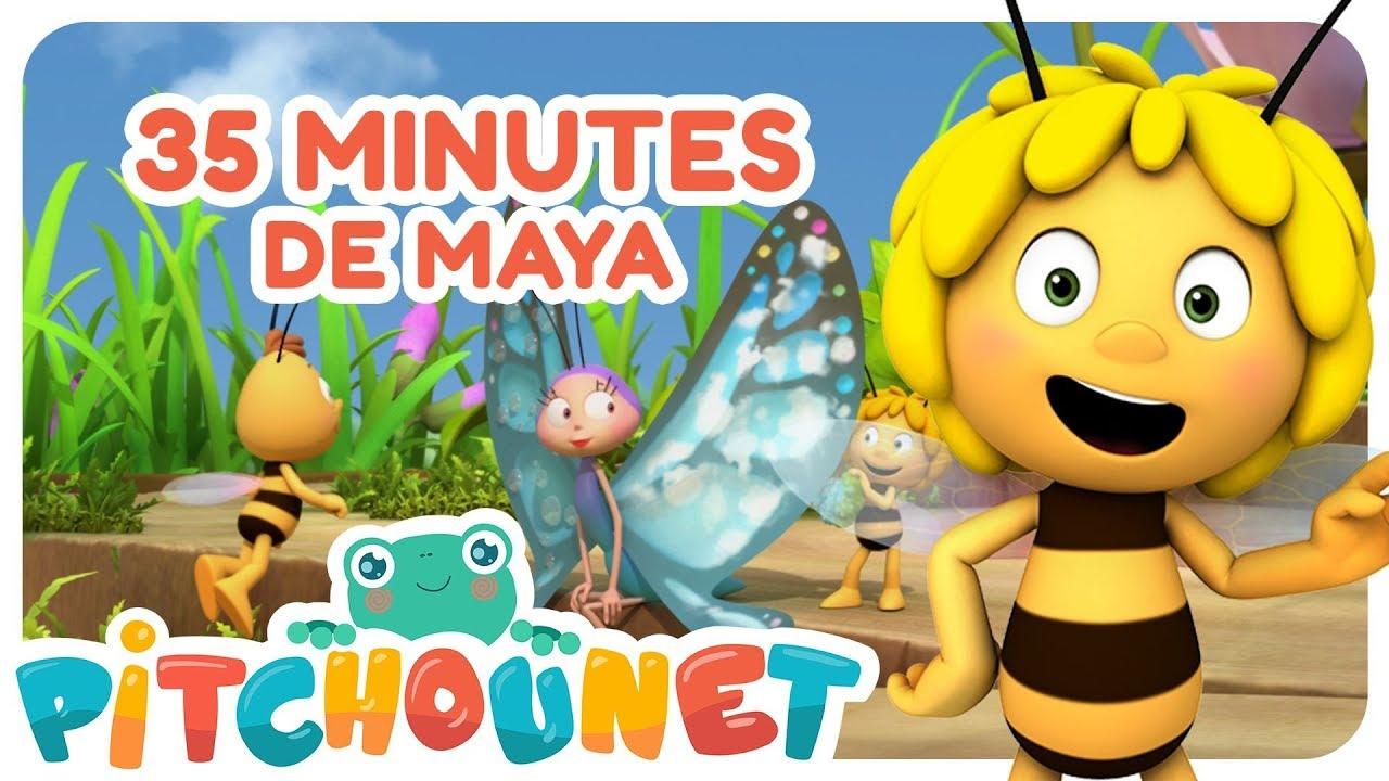 Maya L'abeille : Compilation 35 Minutes | Dessin Animé Et Comptine Pour  Enfant | Pitchounet pour Rebus Enfant