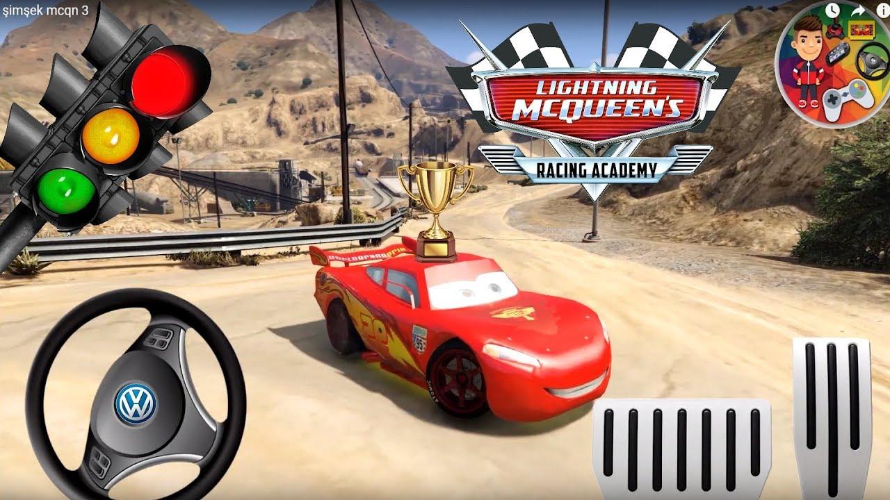 Mcqueen Cars 3 Dağ Yarışı Araba Oyunları / Mountain Racing Car Games /jeux  De Voiture De Course pour Jeux De Voiture De Cours