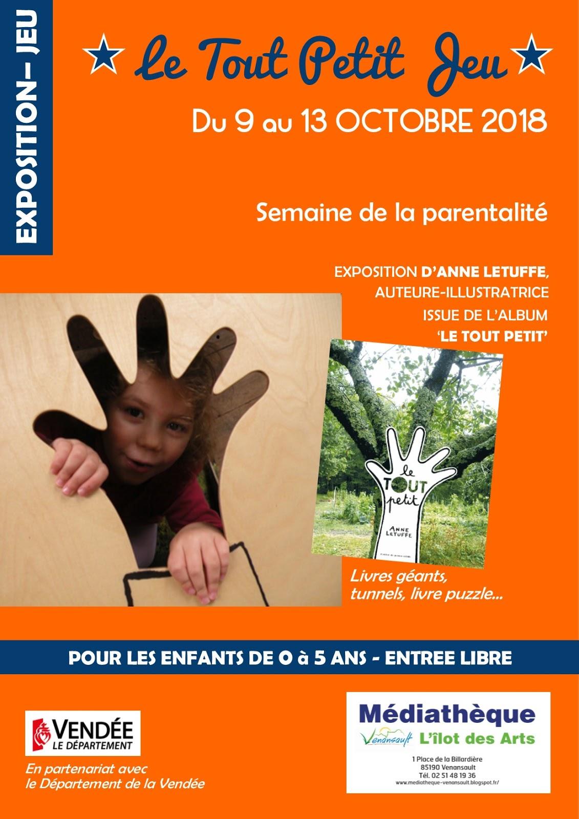 Médiathèque De Venansault : Exposition Le Tout Petit Jeu dedans Jeux Pour Tout Petit