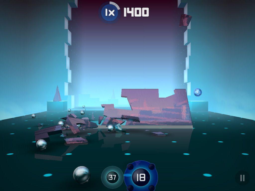 Mediocre Games Annonce Smash Hit, Un Casse-Brique 3D Sur dedans Jeu Casse Brique