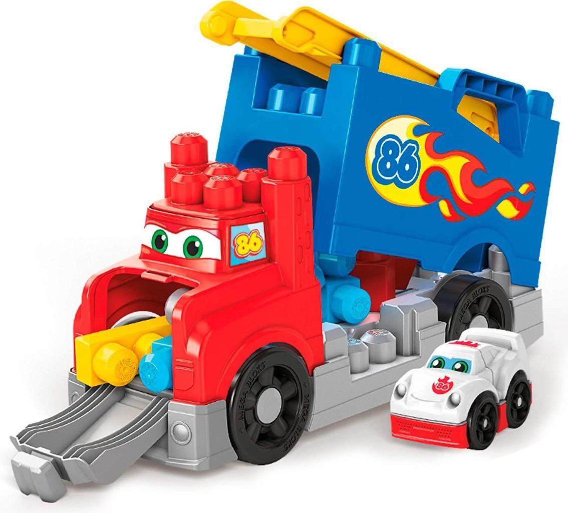 Mega Bloks Mon Camion De Course, Jeu De Voiture Et De Blocs tout Jeux Voiture Bebe