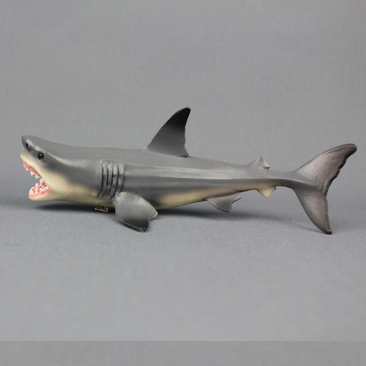 Megalodon Requin Requin Jouet Modèle Moulé Sous Pression Modèle Bureau Décor destiné Voiture Requin Jouet