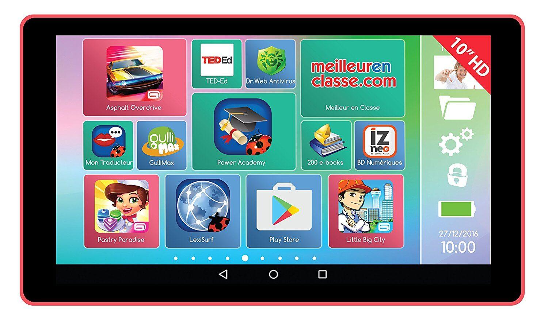 Meilleure Tablette Tactile Éducative Pour Enfant 7 Ans Et Plus intérieur Tablette Enfant Fille