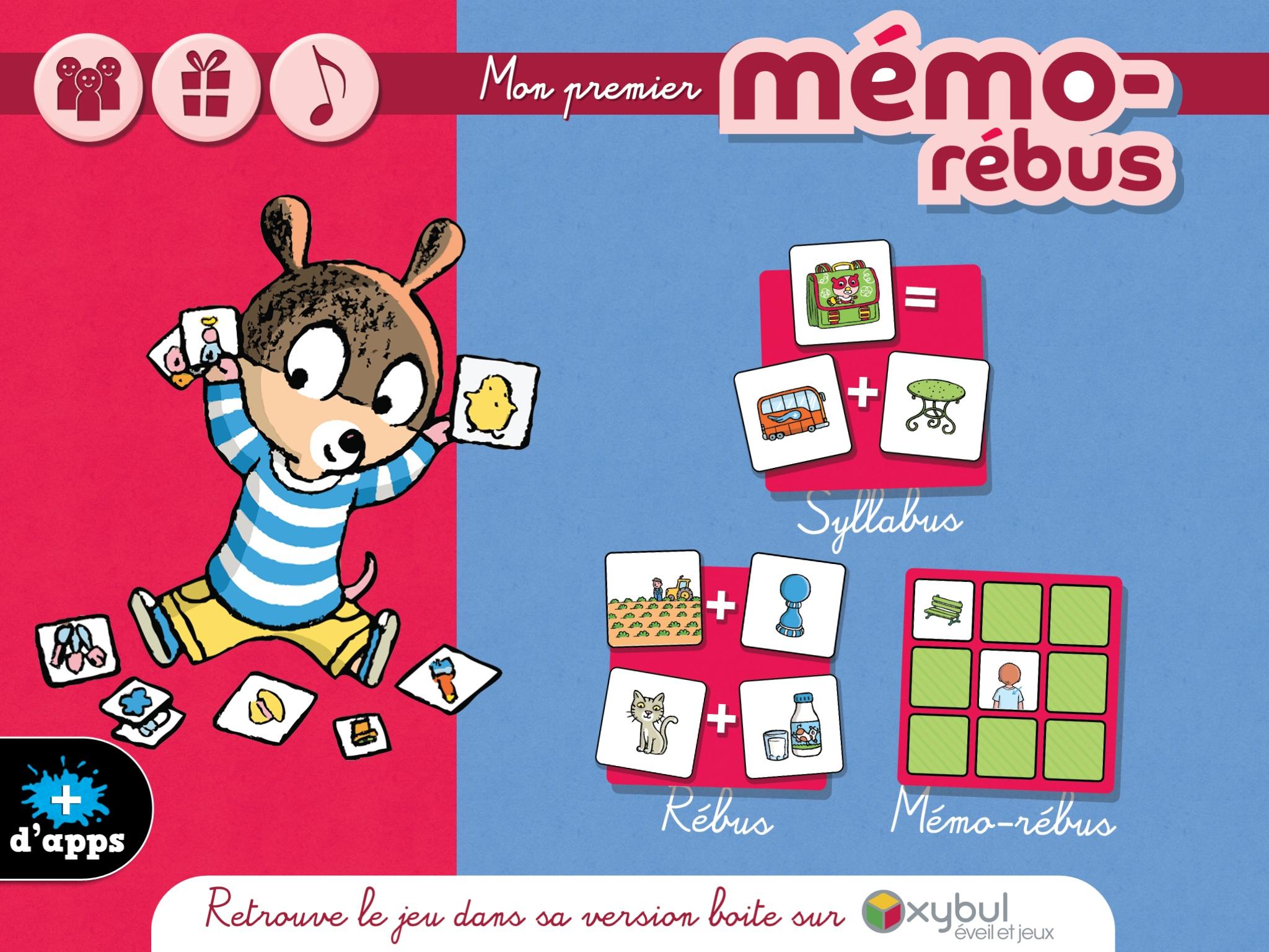 Mémo-Rébus - Petitsgeeks.fr avec Rebus Enfant