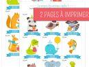 Memory Animaux - Jeu À Imprimer | Jeux A Imprimer, Jeux dedans Apprendre Les Animaux Jeux Éducatifs