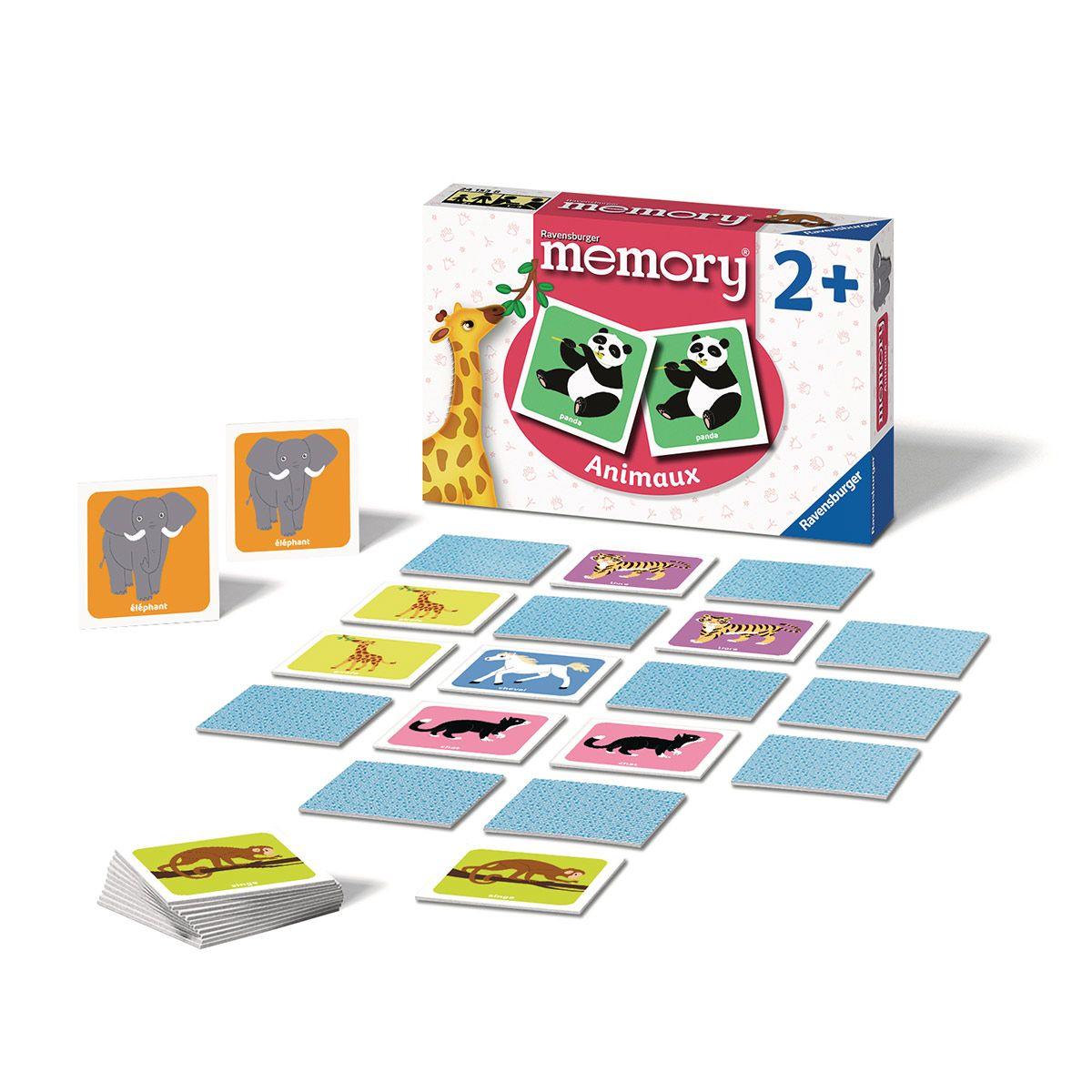 Memory Animaux - Jeux De Société Et Puzzles - La Grande Récré intérieur Jeu Memory Enfant