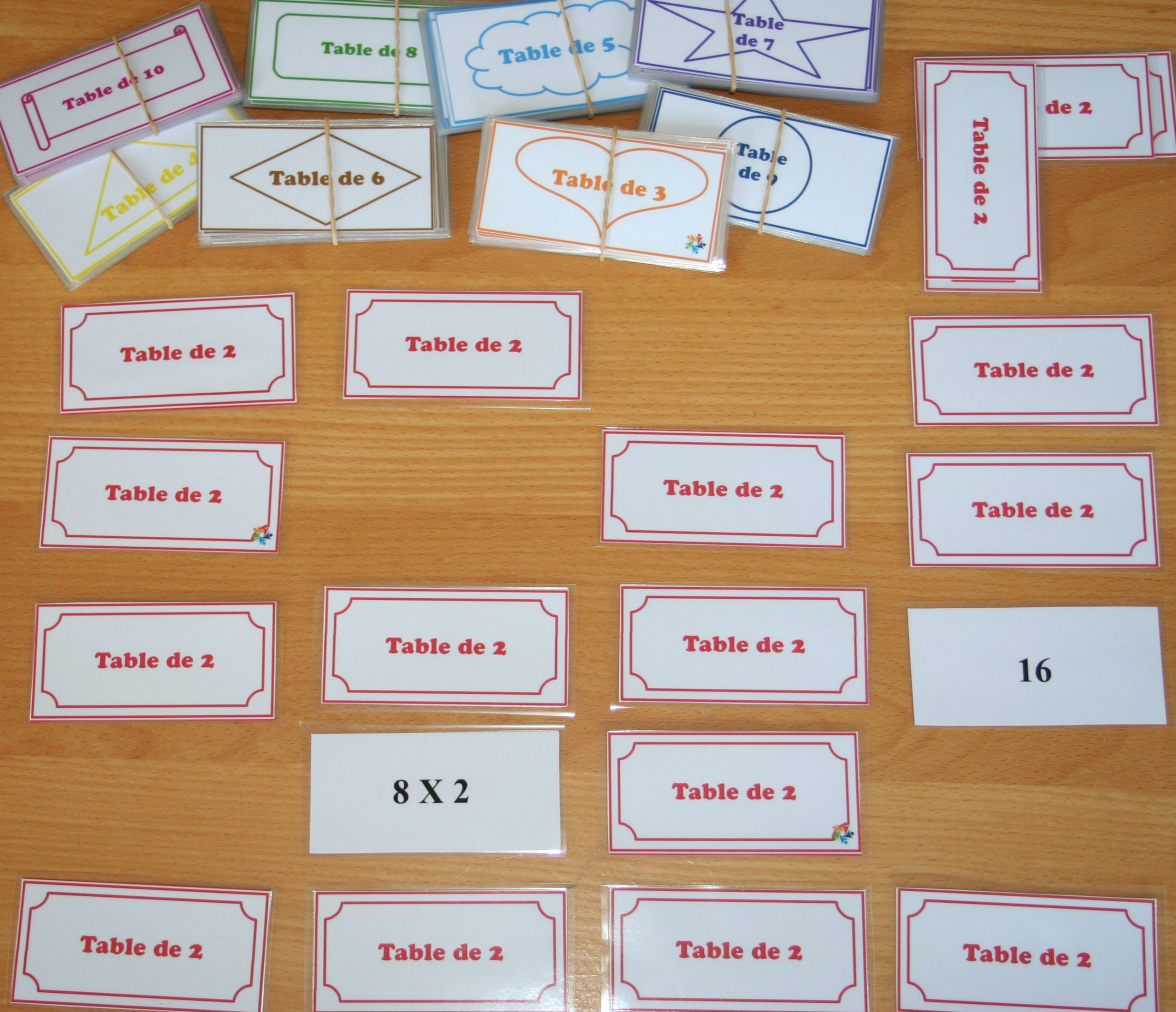 Mémory : Tables De Multiplication - Document Gratuit intérieur Jeux De Memory Gratuit