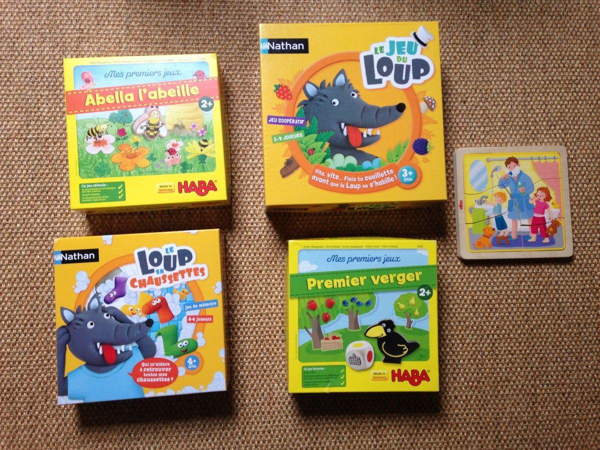 Mes 5 Jeux De Société Préférés Pour Les 2 À 3 Ans | Jeux De destiné Jeux Pour Enfant De 3 Ans