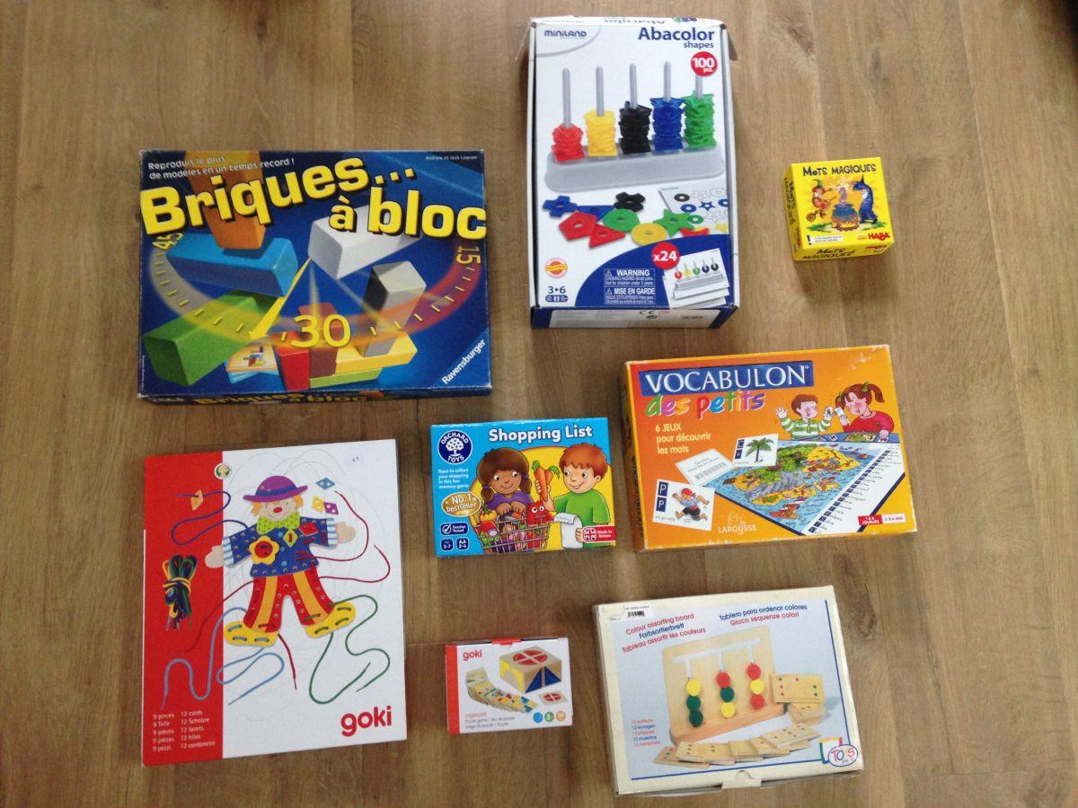 Mes 8 Jeux Éducatifs Préférés Pour Les Enfants De 3 À 6 Ans avec Jeux Pour Un Enfant De 3 Ans