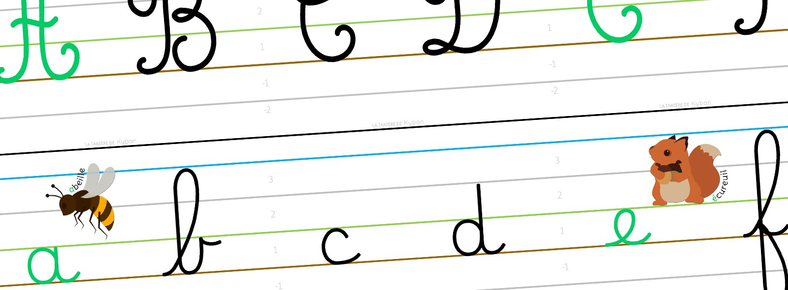 Mes Affichages Alphabet Et Écriture - Cursive Dumont - La avec Comment Écrire Les Lettres De L Alphabet Français