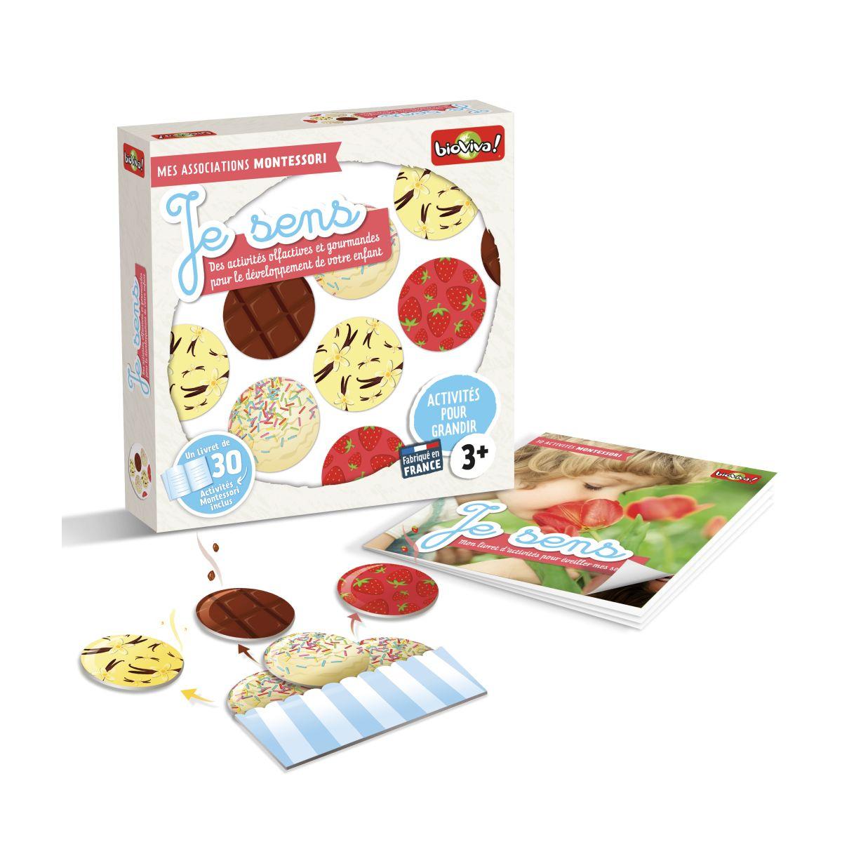 Mes Associations Montessori Je Sens - À Partir De 3 Ans serapportantà Activité Montessori 3 Ans