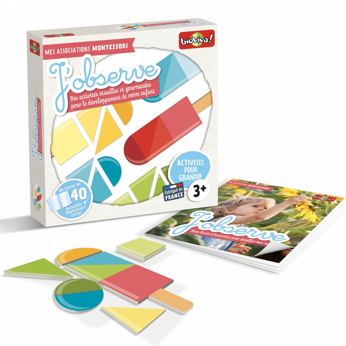 Mes Associations Montessori - J'observe - À Partir De 3 Ans * destiné Activité Montessori 3 Ans