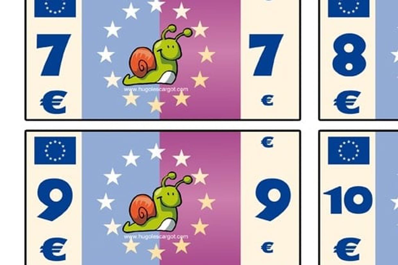 Mes Billets De Banque avec Billets Et Pièces En Euros À Imprimer
