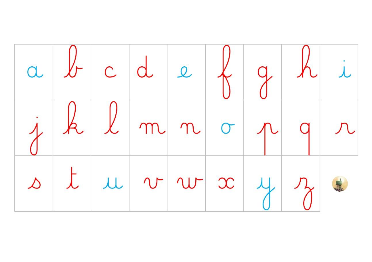 Mes Boites À Écrire : Lettres Mobiles À Toutes Les Sauces à Comment Écrire Les Lettres De L Alphabet Français