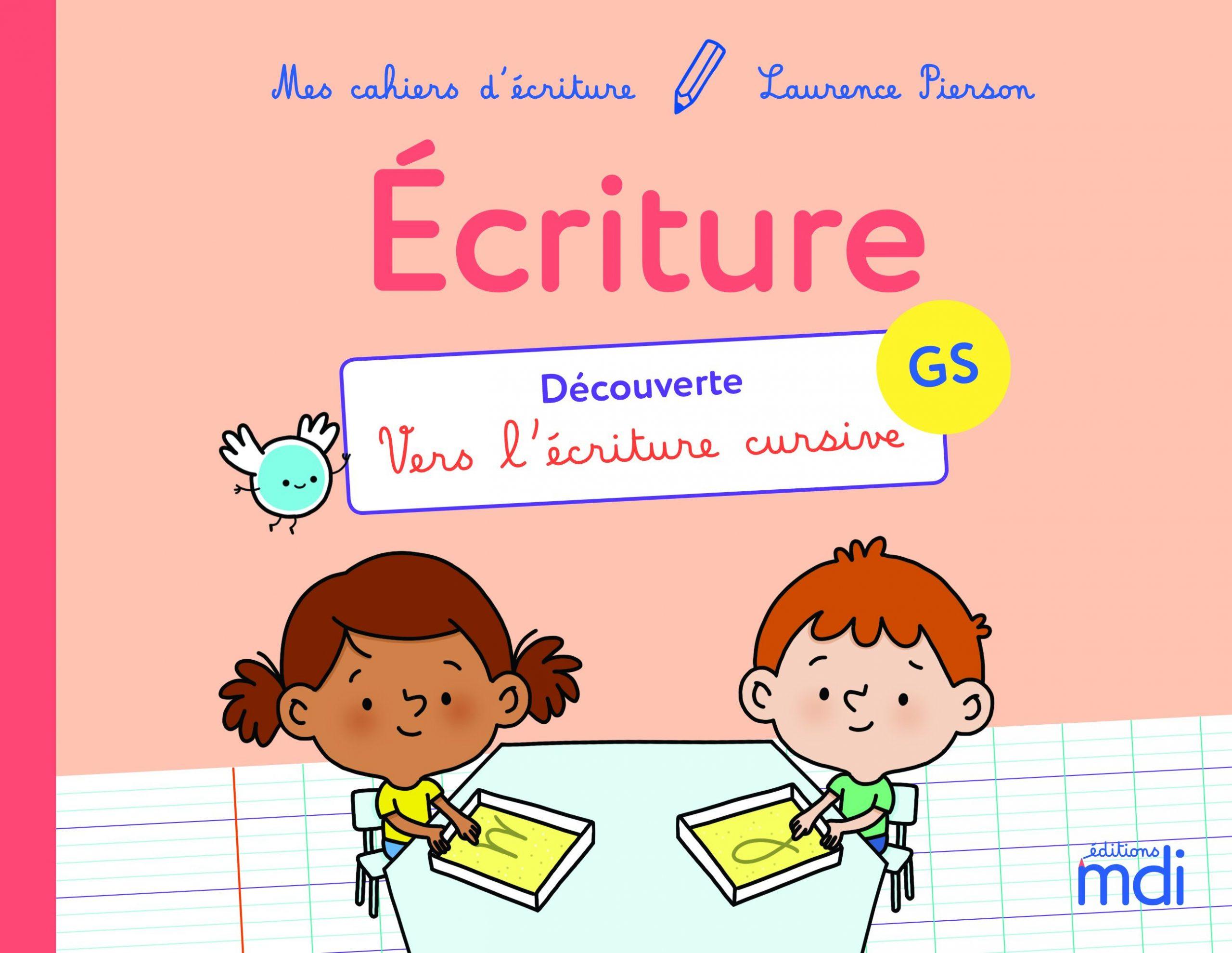Mes Cahiers D'écriture - La Grande Section dedans Apprendre Ecriture Maternelle