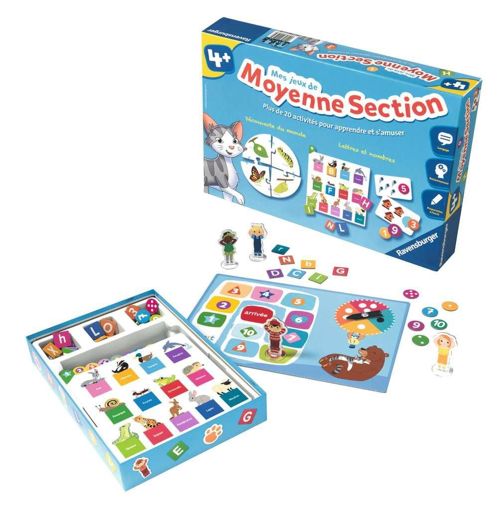 Mes Jeux De Moyenne Section intérieur Jeux Educatif Maternelle Petite Section