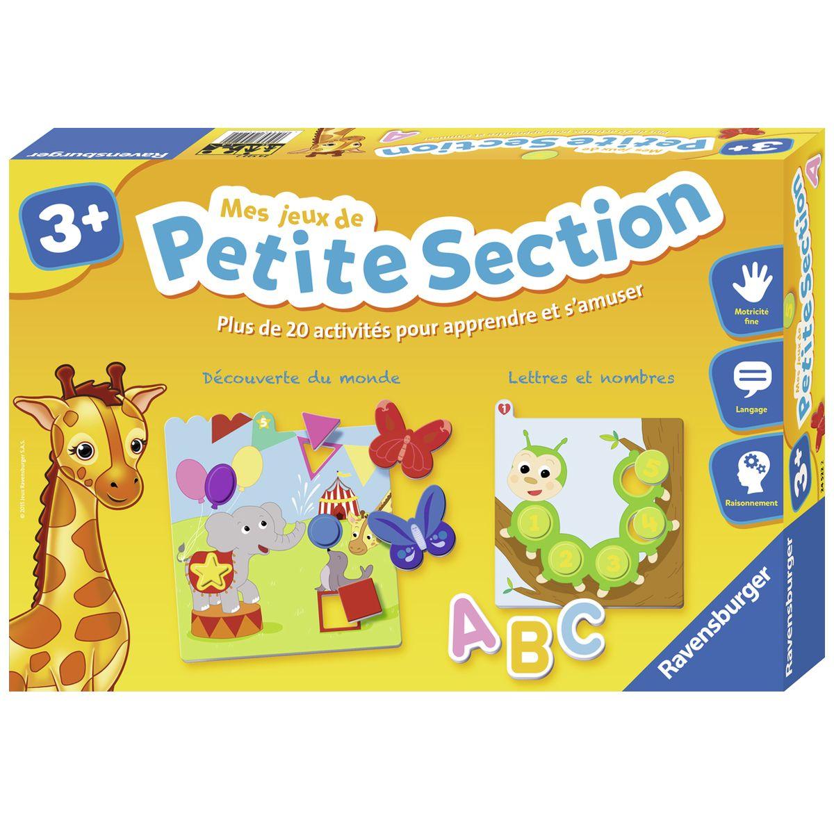 Mes Jeux De Petite Section - Apprentissage Des Lettres Et serapportantà Jeux D Apprentissage Maternelle